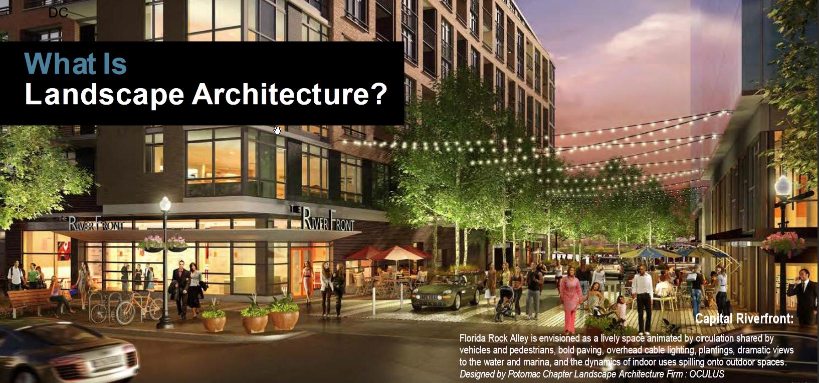 What is a Landscape Architect? – Potomac ASLA
